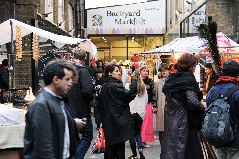 Brick Lane Markets, Sunday Upmarket, Backyard Market, Tea Rooms, Vintage Market