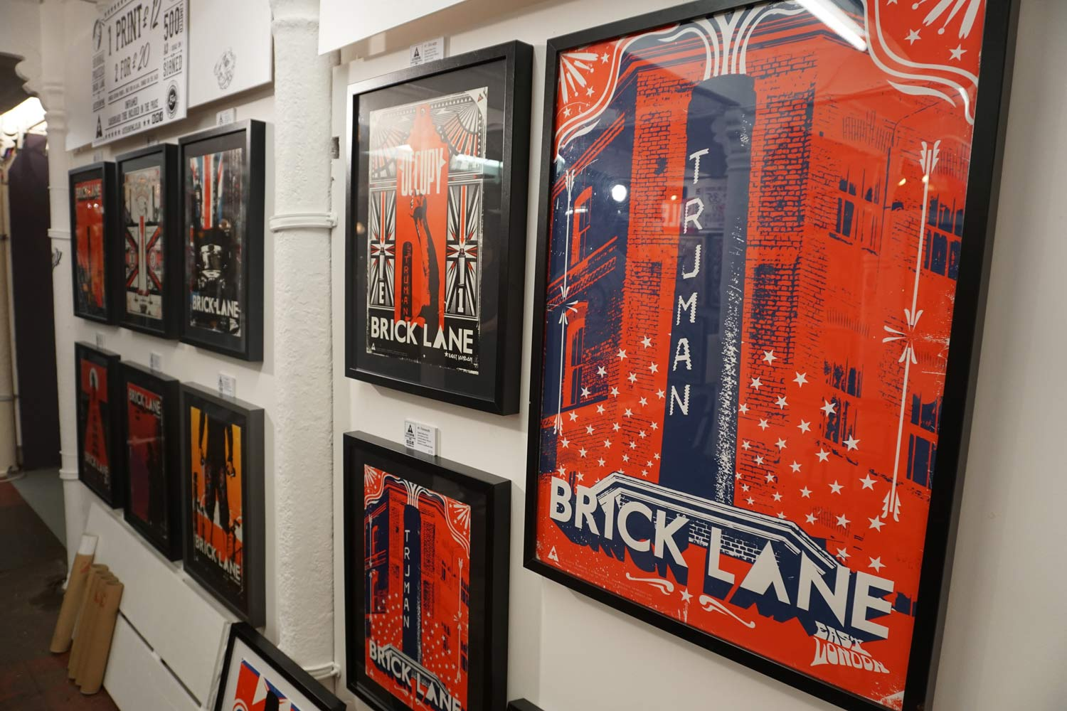 Brick Lane Markets, Sunday Upmarket, Backyard Market, Tea Rooms, Vintage Market